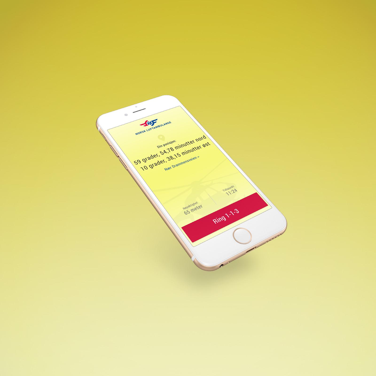 Hjelp 113 app